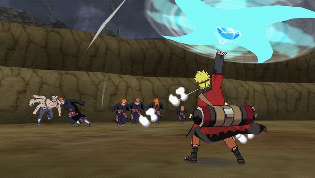 Wo Narutos Rasen-Shuriken hinfliegt, wagt es kein Grashalm mehr, vom Wachsen auch nur zu träumen.
