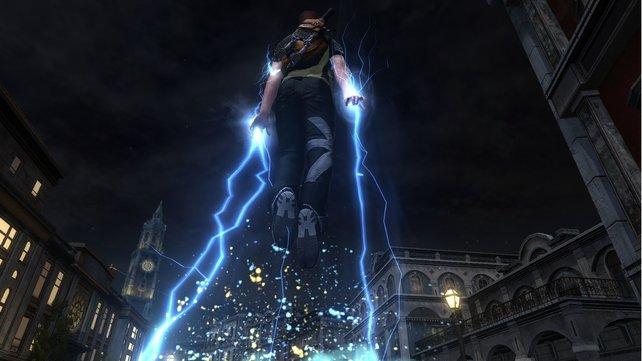 Superheld Cole lässt es auch in inFamous 2 krachen.