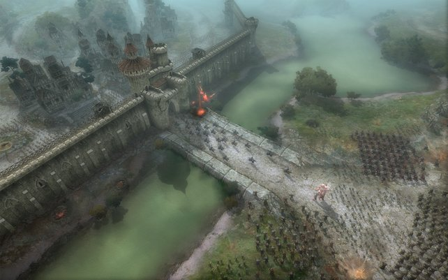 Belagerungskämpfe sind die spannersten Schlachten