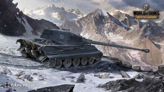 Tiger im Schnee. Endlich könnt ihr auch auf der Konsole auf Panzerjagd gehen.