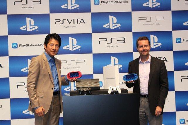Auf der Pressekonferenz stellt Sony das neue PS3-Modell und frische Farben für die Vita vor.