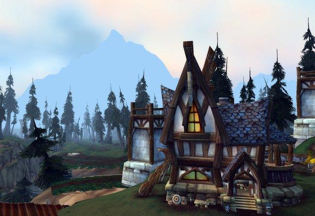 Optisch hält Blizzard dem Fantasy-Look die Treue