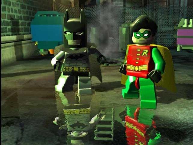Kein Batman ohne Strumpfhosenträger Robin.