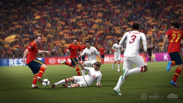 Die Spielmechanik ist aus Fifa 12 übernehmen.
