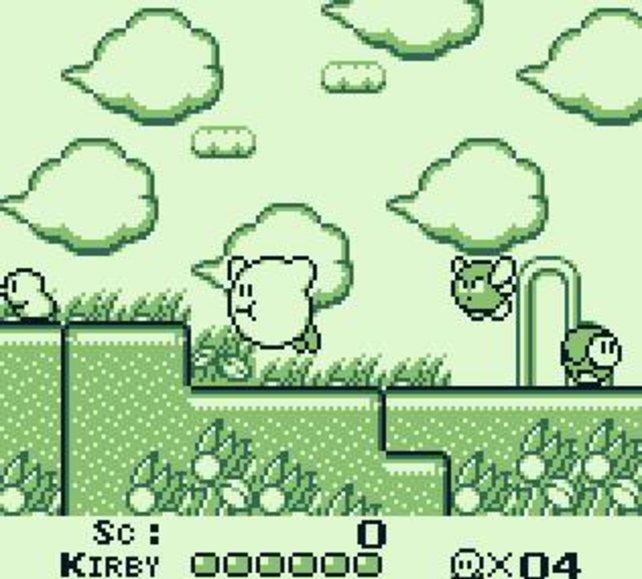 Kirby's Dream Land gilt als passendes Spiel für Anfänger.
