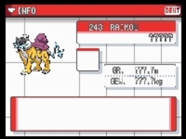 Fangt ihr ein Pokémon, findet ihr diverse Informationen über das Monster im Pokédex.