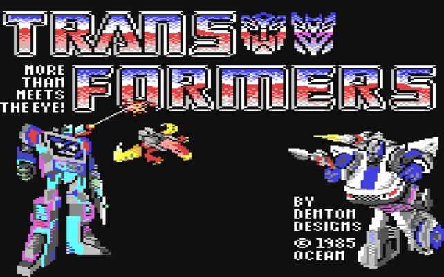 Das erste Transformers-Videospiel erscheint für den Commodore 64.