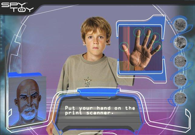 Der Fingerabdruckscanner