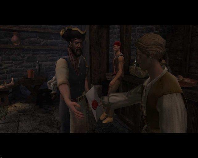Long John Silver, der einbeinige Pirat