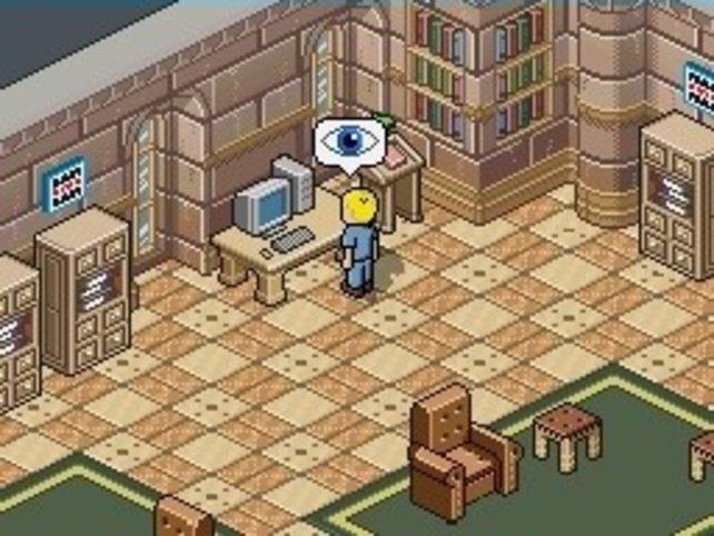 In der Bibliothek erfahrt ihr viel Wissenswertes
