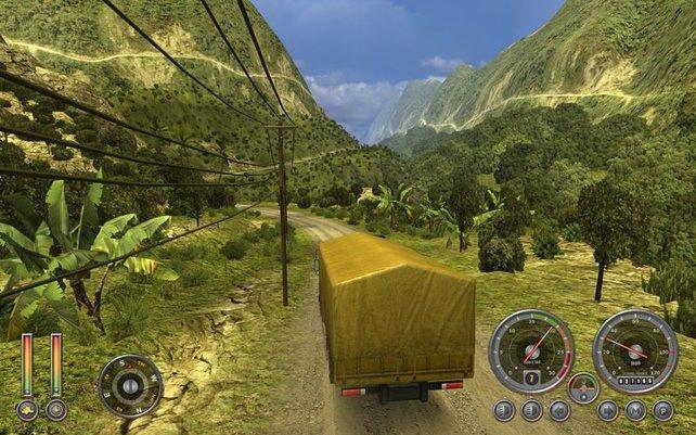 Trotz anständiger Kulisse: Extreme Trucker 2 bietet spielerisch fast nichts.