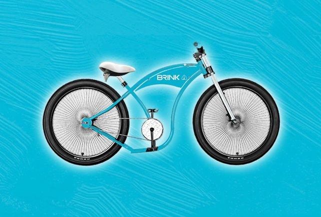 Der Hauptpreis: Das PG Bike im BRINK-Design im Wert von 4.000 Euro.