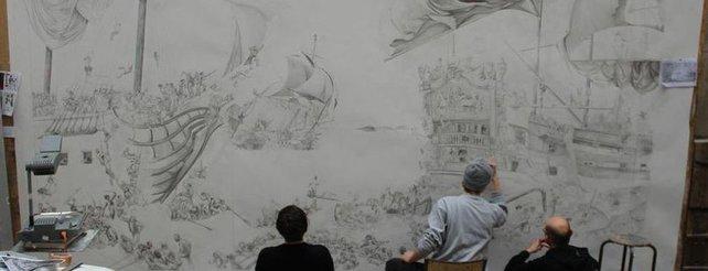 Assassin's Creed 4: Euer Gesicht auf einem riesigen Wandgemälde