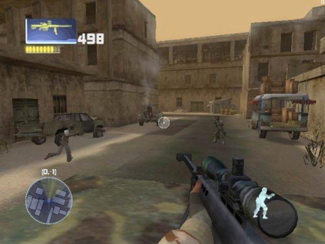 Das Sniper Gewehr zählt zu den durchschagskräftigsten im Spiel.