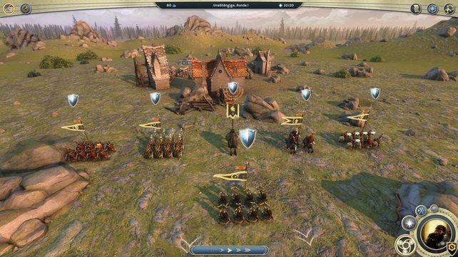 Age of Wonders bietet alles zwischen kleinen Scharmützeln und großen Feldschlachten.