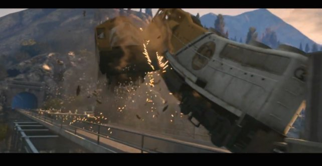 Ob Züge in GTA 5 generell zerstörbar sind?