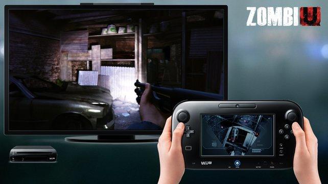 Das Gamepad der Wii U dient euch unter anderem als Karte.