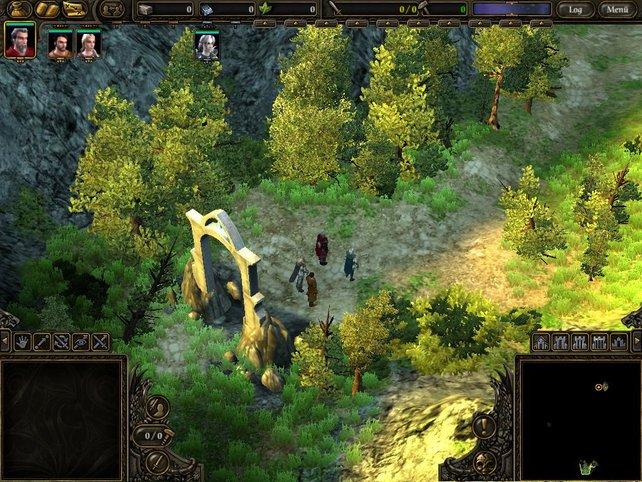 Ein Portal, der Eingang zur nächsten Insel (Karte) des Spiels