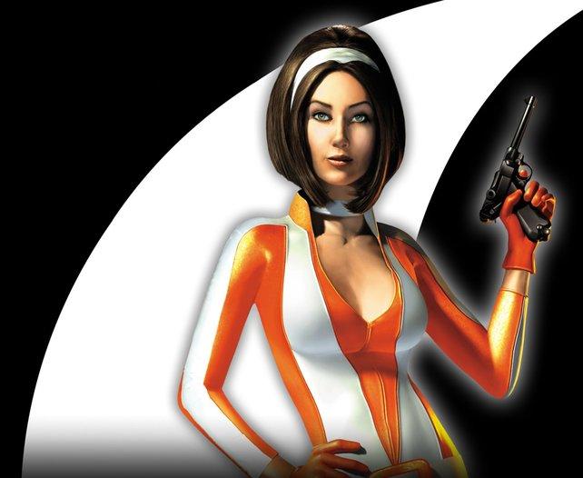 Macht sogar im Pommes-Rot-Weiß-Kostüm eine tolle Figur: Archer. Kate Archer.