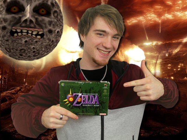 Davids Spiel für den Weltuntergang: Zelda - Majora's Mask.