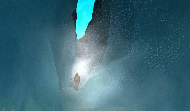 Die Bedrohung in Form von Eis und Schnee kommt viel zu kurz.