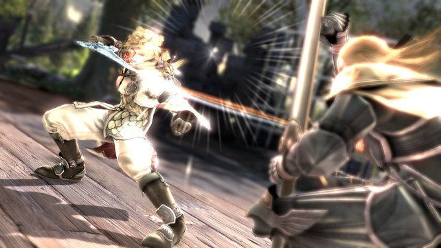 Soul Calibur 5, eines der neuen Spiele von Namco Bandai.