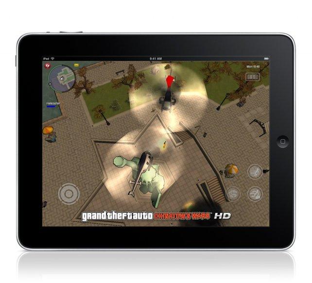 GTA: Chinatown Wars auf dem iPad