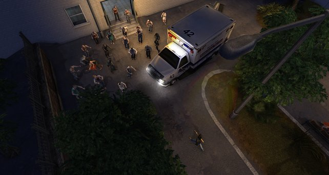 Die Ambulanz kommt etwas zu spät, die Patienten sind schon hinüber.