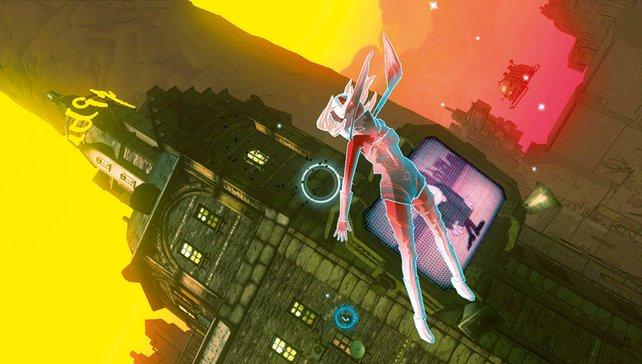 Im freien Fall erkundet ihr die wunderschöne Welt von Gravity Rush.