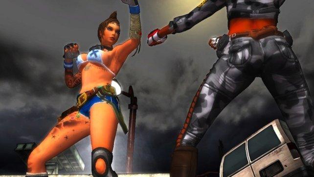 Allzu attraktiv sind die Damen bei Girl Fight nicht.
