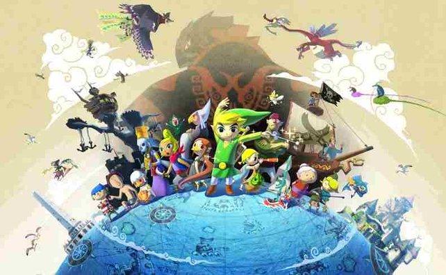 2002 erscheint The Legend of Zelda - Wind Waker für  den Gamecube. Jetzt ist es für Wii U als HD-Remake zurück.