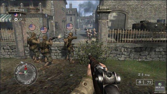 Mit Call of Duty 2 landet Infinity Ward vor allem auf der debütierenden Xbox 360 einen Volltreffer.