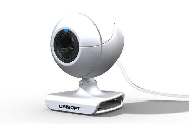 """Ubisofts USB-Kamera, sozusagen das """"Eye Toy"""" für die Wii..."""