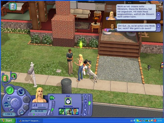 Alice begegnet Thomas und seiner Hündin Leila ... und hat nichts gegen ein Date einzuwenden