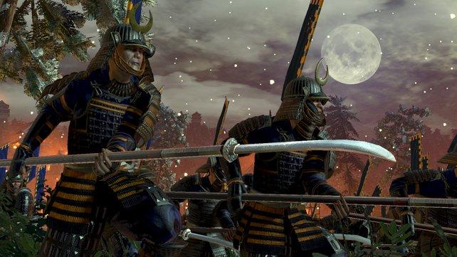 Das Stein-Schere-Papier-Prinzip funktioniert: Samurai schlägt Yari-Speerkämpfer, der wiederum Kavallerie aufspießt.