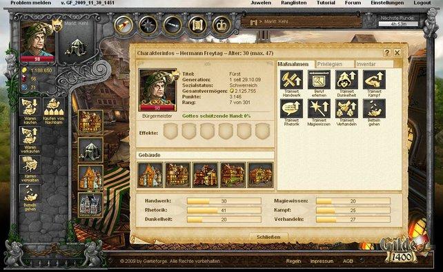 Im Verlauf des Spiels kommen viele neue Funktionen hinzu.