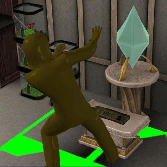 Auf jeden Fall nimmt dieser Sim das Gold mit ins Grab.