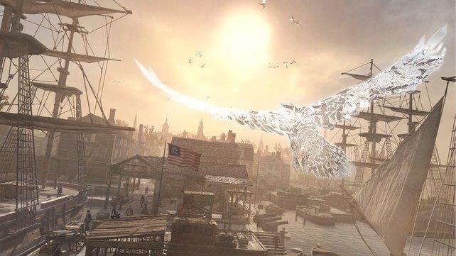 Nun könnt ihr auch durch Bostons Hafen fliegen.