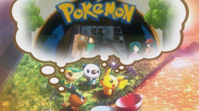 Ihr beginnt euer Abenteuer mit Pikachu und den Startern der fünften Generation.