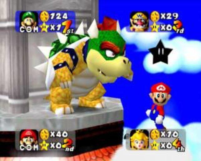 Bowser hat sich vorgenommen, die Party zu sabotieren. Wäre ja auch noch schöner, wenn dieser Mario einfach so feiert!