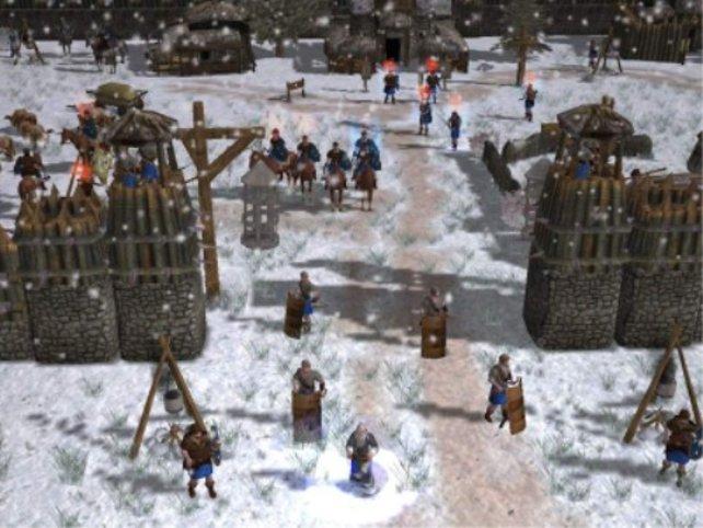 Es gibt Tumulte im Dorf