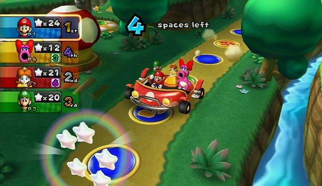In Mario Party 9 geht es wieder per Auto übers Spielfeld. Ob das die Fachleute mit der Serie versöhnt?