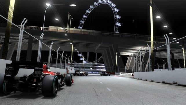 Der Nacht-Kurs von Singapur hat es in sich.