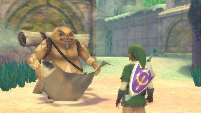 Goronen sind in Zelda - Skyward Sword ebenfalls wieder mit von der Partie.