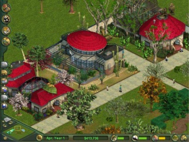 Tierhäuser sind schnell gebaut und bei Besuchern beliebt.