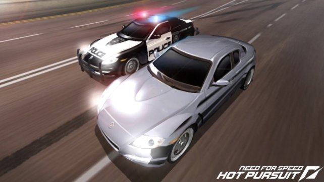 Weil ihr an illegalen Rennen teilnehmt, jagt euch die Polizei.