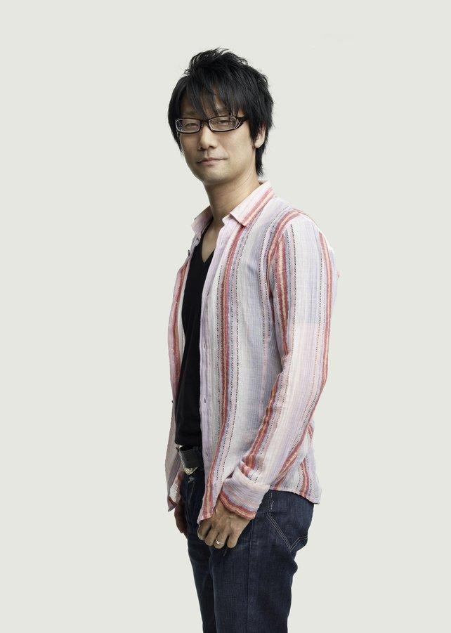 Hideo Kojima - das Superhirn liebt es, kleine Andeutungen zu machen.