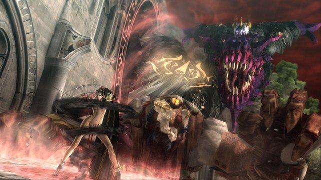 Was ist interessanter: Der haarige Drachenkopf oder die nackte Hexe?