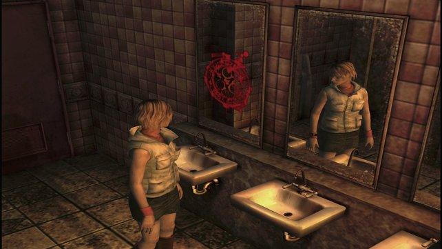 Heather birgt ein düsteres Geheimnis in sich (Silent Hill 3).