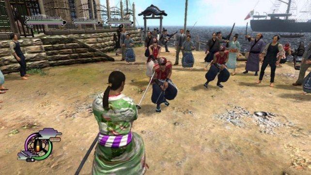 Als Samurai lasst ihr eure Klinge sprechen.